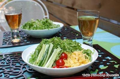 サラダみたいな冷やし中華