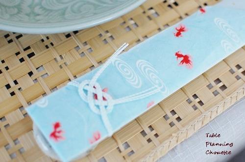 夏らしい箸袋