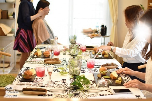華やかなテーブル
