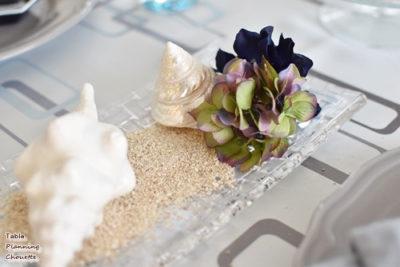 夏のイメージのテーブル