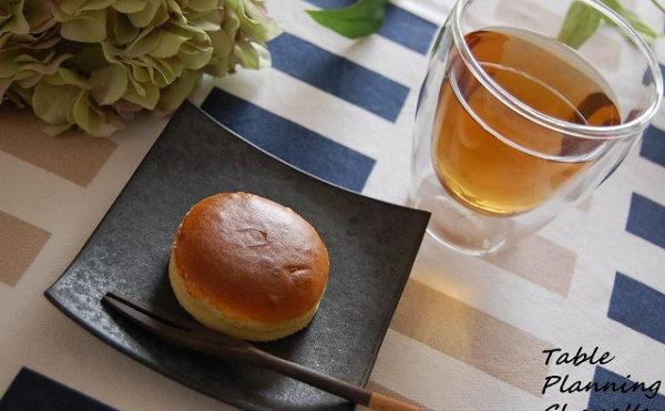 那須のお土産に頂いたチーズケーキ