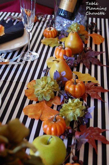 ハロウィンのテーブルコーディネート