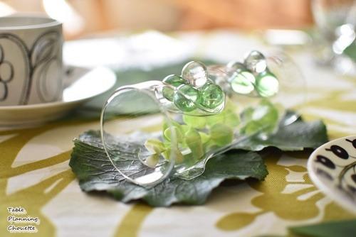 ガラスのグリーン