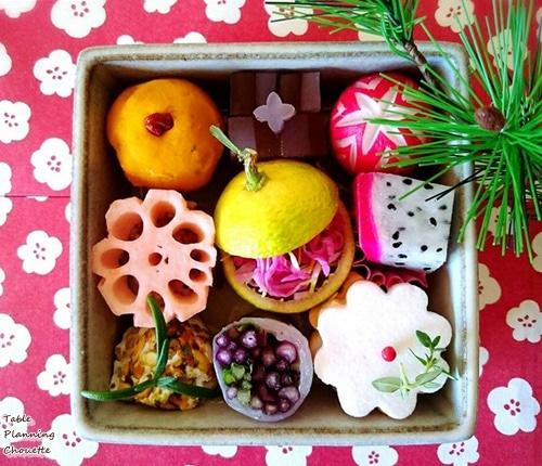 お持たせにも使える和菓子風デリ弁当