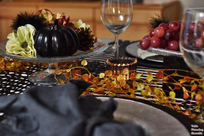 大人のハロウィンテーブル