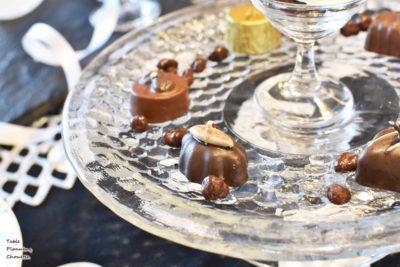 チョコレートのキャンドル