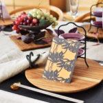木の器のテーブルコーディネート