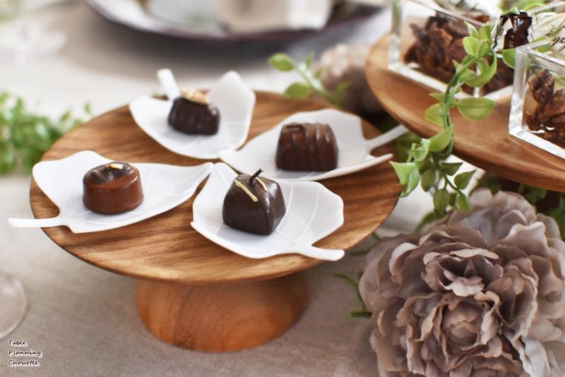 1粒チョコのキャンドル