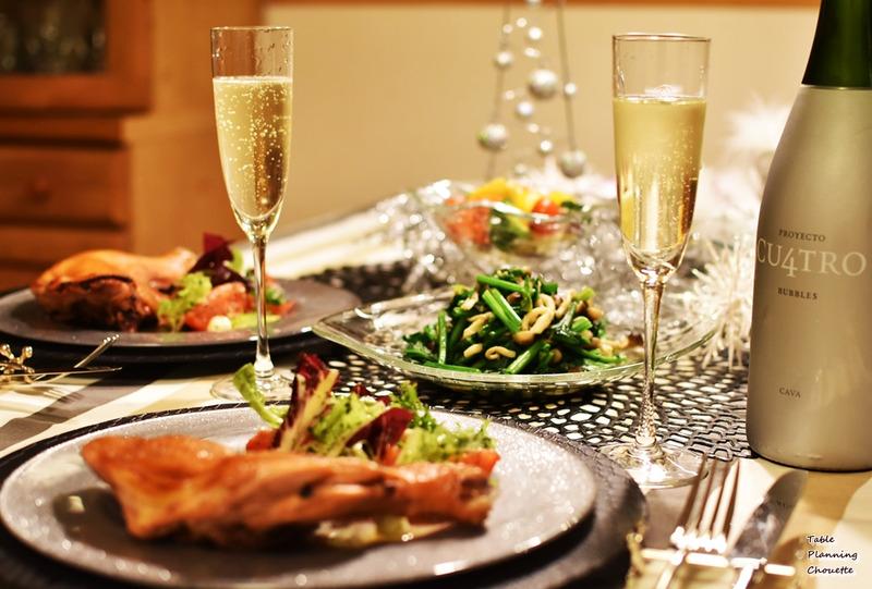 お家でクリスマスディナー