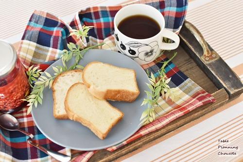 食パンの盛り付け