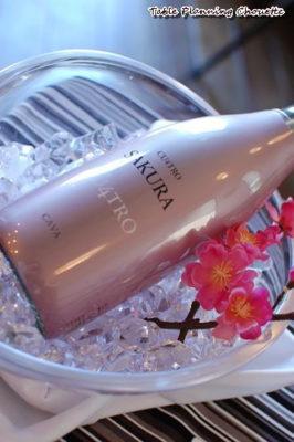 ピンクのボトル