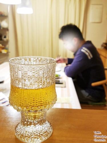キッチンでもビール