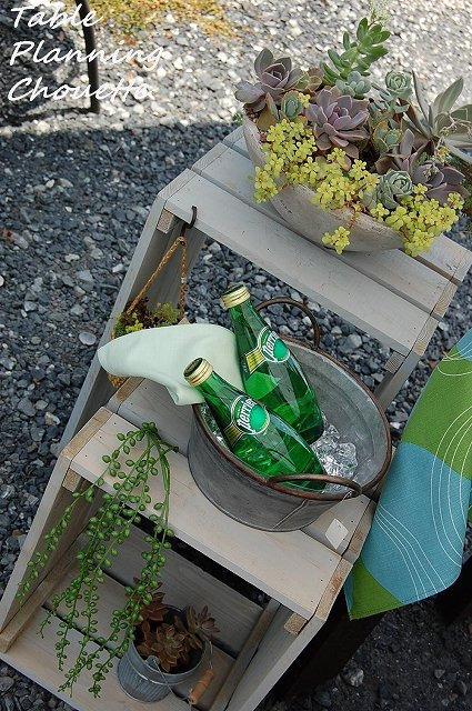 satohome ガーデングッズ 木の箱