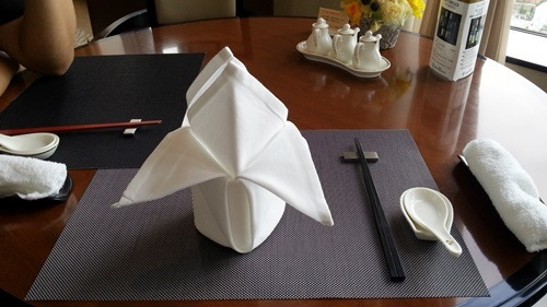 中華でお祝いランチ
