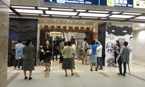 日本橋三越で開催中の英国フェア