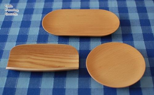 ケユカ 木の素材のお皿