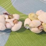 貝殻を使った小物