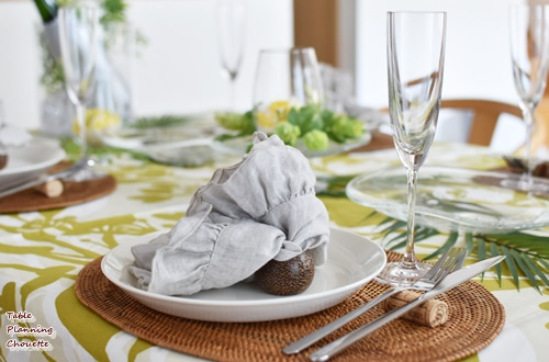 布製のナプキン