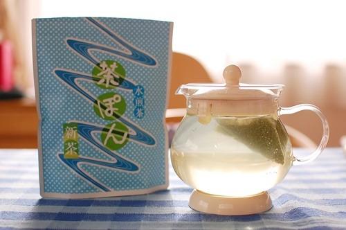 うおがし銘茶の「茶ぽん」