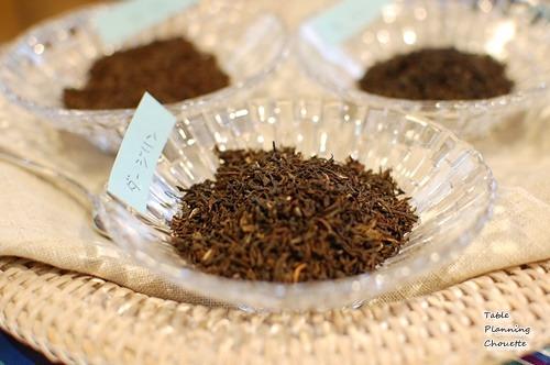 世界三大銘茶を飲み比べ