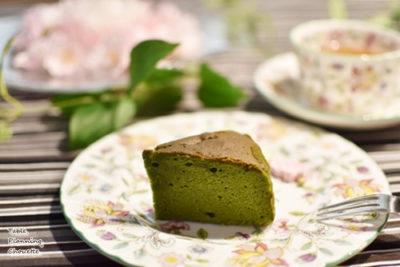贅沢抹茶満月(抹茶バターケーキ)