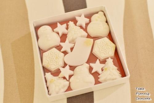 鶴屋吉信のお干菓子「ホワイトクリスマス」