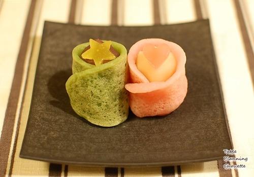 銀座甘楽の七夕お菓子