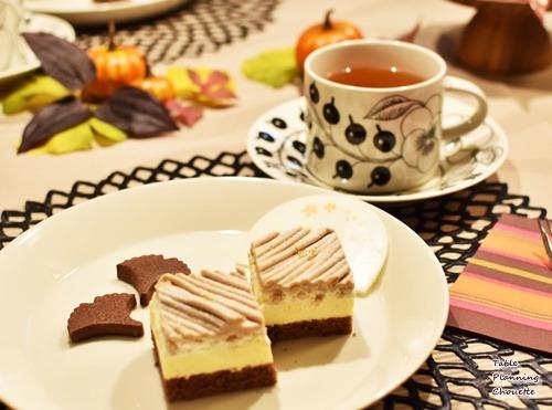 BUZZSEARCH(バズサーチ)モンブランケーキとヨックモックのクッキー(ショコラ)
