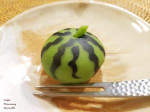 浦和の菓匠 花見 上生菓子 スイカ