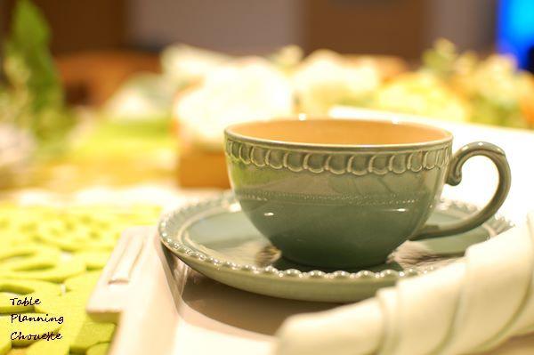 アフタヌーンティーのカップ