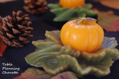 かぼちゃのキャンドル