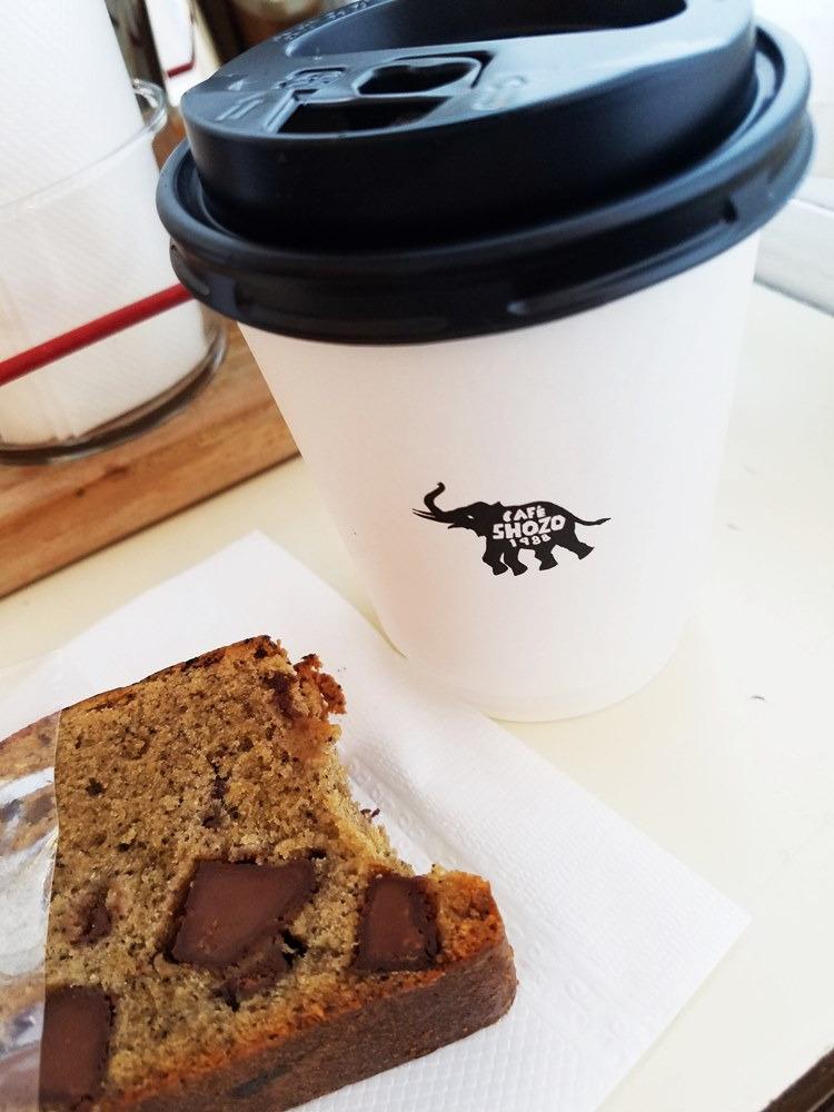 SHOZO コーヒーとコーヒーケーキ