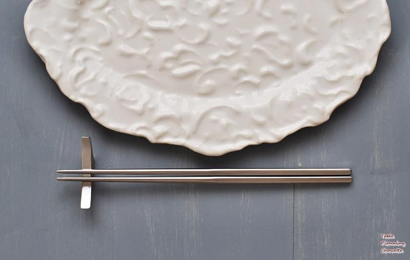 シルバーのお箸