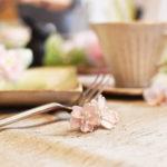 桜のナイフレスト