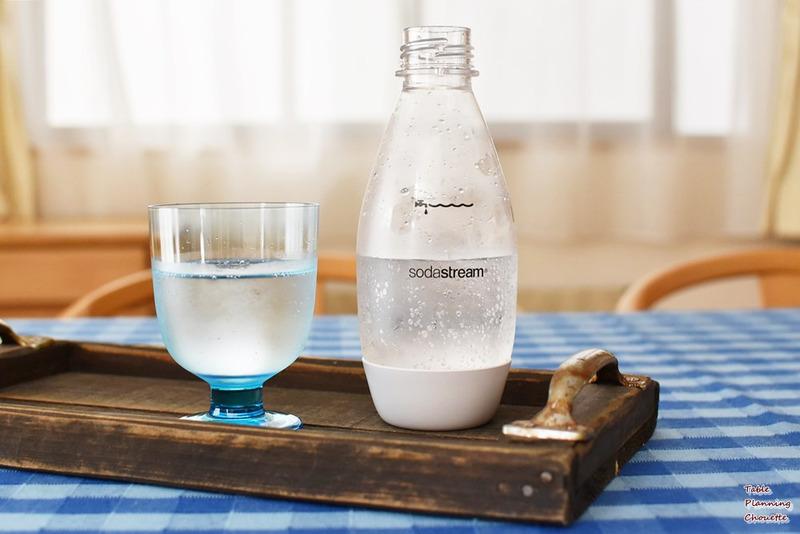 作りたての炭酸水
