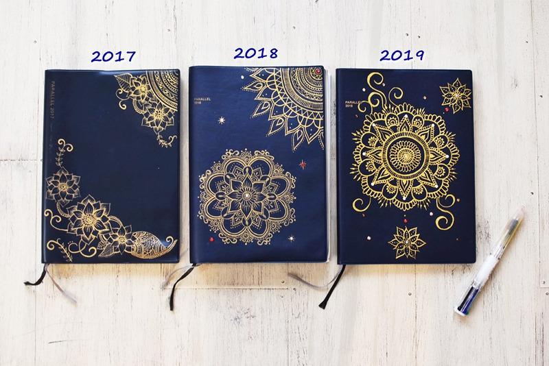 ブルーミングアートの手帳カバー