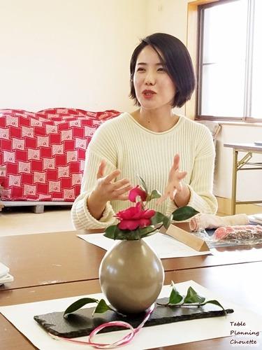 和菓子作家の坂本紫穂さん