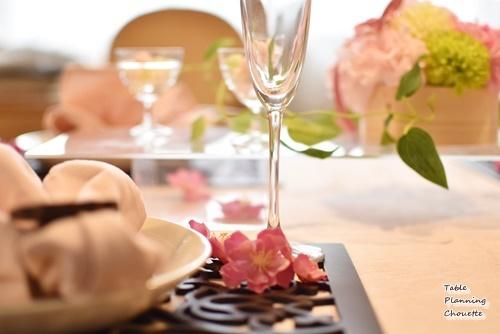 雛祭りのテーブル