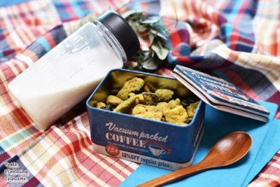 大豆ミートやナッツ類とプロテイン